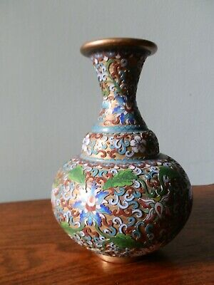 £40 • Buy Old Chinese Champleve Cloisonne Vase -. Beautiful