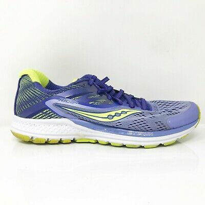 $ CDN88.36 • Buy Saucony Womens Ride 10 S10373-1 Purple Running Shoes Lace Up Low Top Size 8.5
