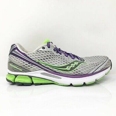 $ CDN84.63 • Buy Saucony Womens Triumph 10 10176-4 Silver Green Running Shoes Lace Up Size 9
