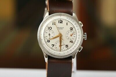 $ CDN1147.23 • Buy Valjoux 71 Vintage Chronograph! Classic War Case. Not Working! For Parts/repair