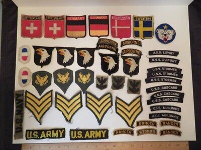 $14.50 • Buy Lot Of US Military Patches And Other Pieces