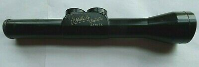 $135 • Buy Vintage Weatherby 2x To 7x Variable Rifle Scope Made In Germany No. 7469