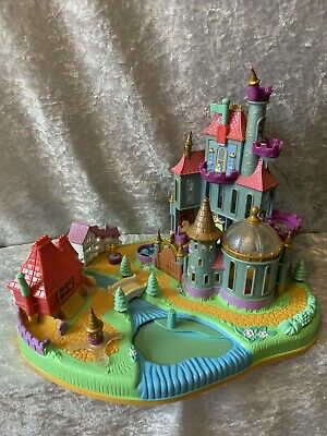 £24.99 • Buy Disney Polly Pocket, Beauty And The Beast Castle, 1997 By Bluebird - No Figures