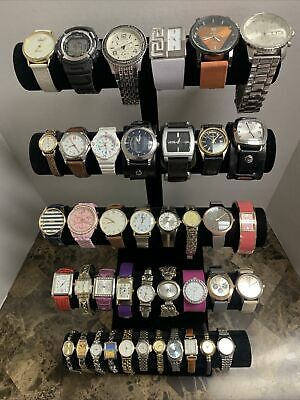 $ CDN25.59 • Buy Huge Quartz Watch Lot - Pulsar By Seiko, Casio, Fossil, Timex  +More-41 Watches!