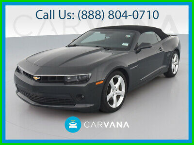 $25990 • Buy 2015 Chevrolet Camaro LT Convertible 2D ABS (4-Wheel) Head Curtain Air Bags Power Folding Roof Traction Control RS Pkg