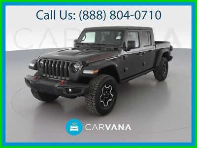 $58590 • Buy 2021 Jeep Gladiator Rubicon Pickup 4D 5 Ft Hill Start Assist Control Dual Air Bags Premium Wheels Cold Weather Group 8.4