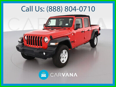 $45590 • Buy 2020 Jeep Gladiator Sport Pickup 4D 5 Ft Rollover Mitigation Traction Control Towing Pkg SiriusXM Satellite Air