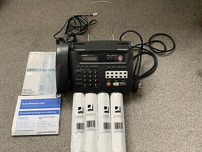 £18 • Buy Brother Fax-525DT Fax With Phone And Copier