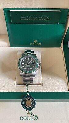 $ CDN27924.95 • Buy Rolex Submariner Hulk 116610LV 2020, 40 Mm Box And Papers