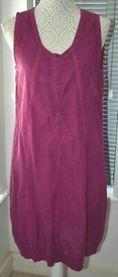 £7.99 • Buy Vetono Be Natural Cotton Dress. Size I. Two Tone. Very Good Condition.