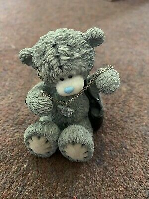 £12.50 • Buy Me To You Bear Figure With Handbag And Adult Necklace