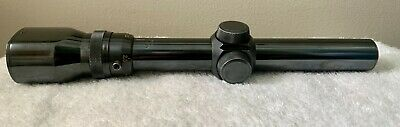 $57 • Buy RARE VINTAGE WEAVER V4.5-W 1.5x-4.5x-20mm STEEL RIFLE SCOPE MADE In USA