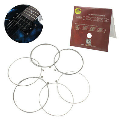 $ CDN3.81 • Buy 6pcs E101 Electric Guitar Strings Nickel Alloy Wound String Instrument StCACA