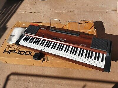 AU150 • Buy Vintage Roland HP-100 Electronic Piano PianoPlus With Box & Manual-needs Repair