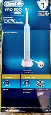 AU20 • Buy Oral-B Professional Care 500 Electric Toothbrush - Blue