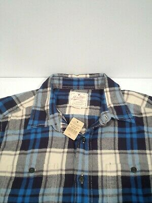 $5.50 • Buy NEW American Eagle Men's Heritage Flannel Shirt Sz Large Classic Fit Soft Cotton