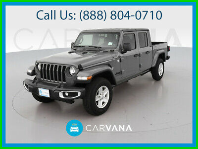 $48590 • Buy 2021 Jeep Gladiator Sport S Pickup 4D 5 Ft Dual Air Bags Backup Camera Uconnect Push Button Start Bed Liner Traction