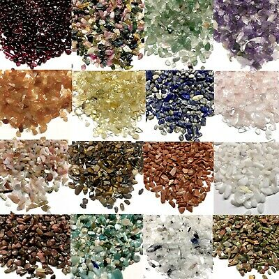 £3.49 • Buy 25g Tiny Natural Stone Gemstone Chakra Crystal Very Small Chips Nuggets 2mm-6mm