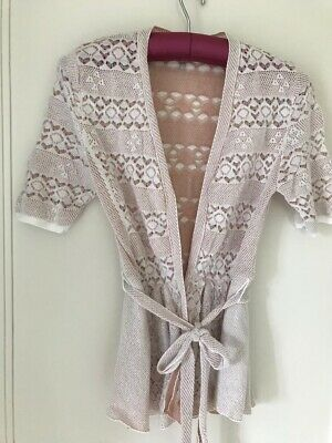$ CDN10.46 • Buy Anthropologie Knitted And Knotted Summer Cardigan Xs