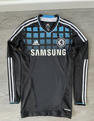 £5 • Buy Men's Chelsea Away 2011/2012 Tech Fit Player Issue Shirt Top Jersey Size 6/M LS