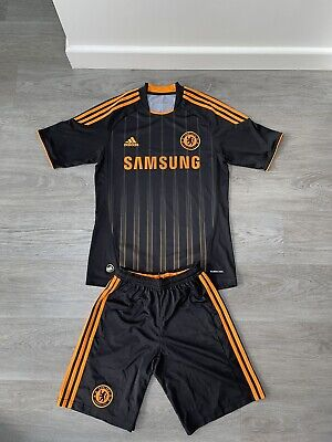 £6.25 • Buy Chelsea Away 2010/2011 Shirt Top Jersey Small  W/ Shorts Read Des For Printing