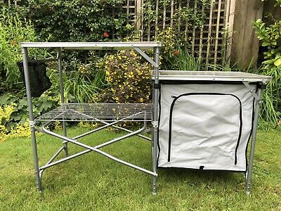 £28.99 • Buy Kampa Commander Camp Field Fold Up Kitchen Unit, Camping, Tents, Awnings