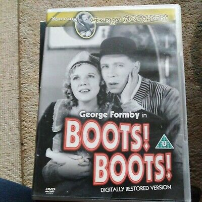 £3.50 • Buy Boots! Boots! On DVD Region 2 (UK And Europe) George Formby