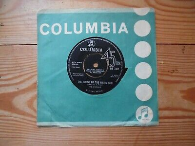 £5 • Buy The House Of The Rising Sun - The Animals - 1964