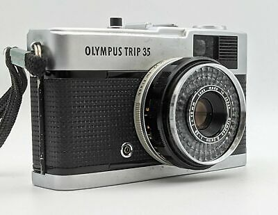 $ CDN61.04 • Buy Vintage Classic Olympus Trip 35 Compact 35mm Film Camera With Pouch