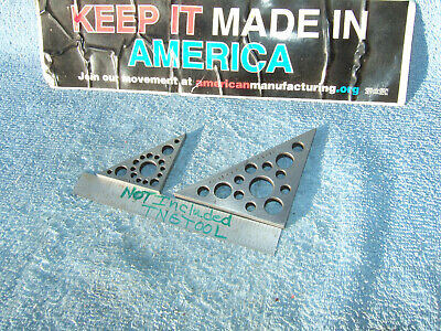 $84.95 • Buy Triangles 2 ,3  Tall Angle Gage Blocks 45* Vintage Toolmaker Machinist Inspect
