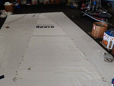 $1295 • Buy Dacron Mainsail For Beneteau 411 By Doyle In Excellent Condition 40.2' Luff