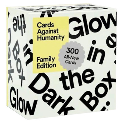 AU44.85 • Buy Cards Against Humanity Family Edition First Expansion Glow In The Dark Box