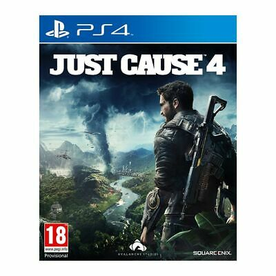 £8.95 • Buy Just Cause 4 (PS4)  BRAND NEW AND SEALED - IN STOCK - QUICK DISPATCH