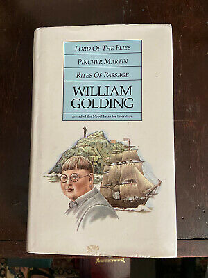 """£2.95 • Buy """"Lord Of The Flies ,  Pincher Martin , """"Rites Of Passage"""" By Golding, William"""