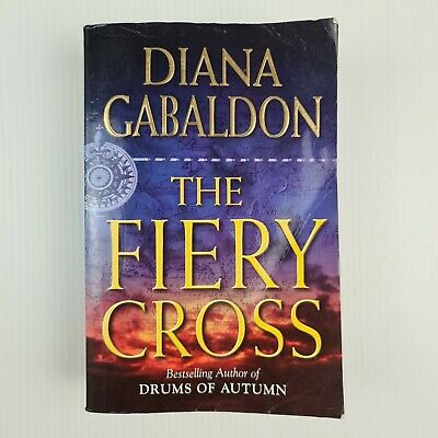 AU19 • Buy The Fiery Cross By Diana Gabaldon - Large Paperback - Outlander #5 -TRACKED POST