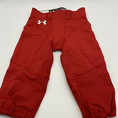 $18.99 • Buy Under Armour Red Football Pants Size M W/O Pads Authentic Game Pants NWOT