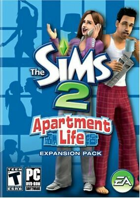 £10.87 • Buy The Sims 2: Apartment Life ~ Expansion Pack (PC Game DVD-ROM, 2008) With Manual