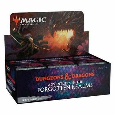 £91.99 • Buy Mtg: Adventures In The Forgotten Realms Draft Booster Box  - New & Sealed