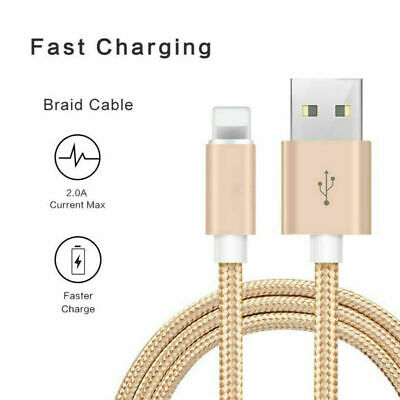 £4.49 • Buy 2M Fast Charging Cable IPhone Charger For Apple IPhone 13 12 11 X 7 8 USB Cable