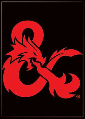 AU33.40 • Buy Dungeons And Dragons Dragon Ampersand 3.5 X 2.5 Magnet