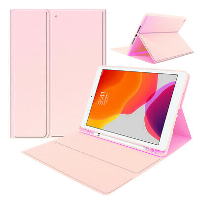 AU28.99 • Buy Leather Case Cover With Pencil Slot For IPad Air 2019 Pro 2017 10.5inch Tablet