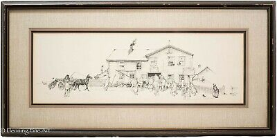 $ CDN457.67 • Buy Norman Rockwell The Blacksmith Shop Lithograph Plate Signed Limited Edition