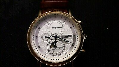 £110 • Buy Boxed Gents Unused Stauer Watchmaker Automatic Watch 27 Jewel