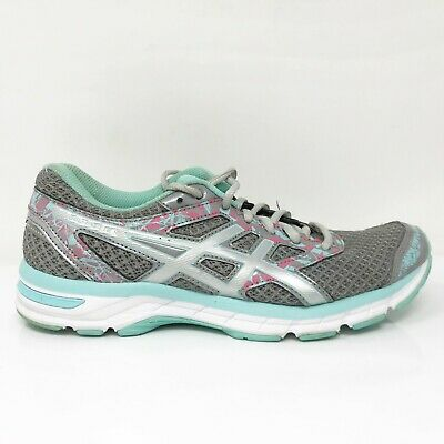 $ CDN82.74 • Buy Asics Womens Gel Excite 4 T6E8N Gray Running Shoes Lace Up Low Top Size 8.5