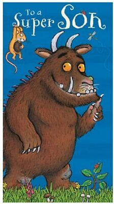 £3.20 • Buy The Gruffalo To A Super Son Birthday Greeting Card Blue Boy With Envelope