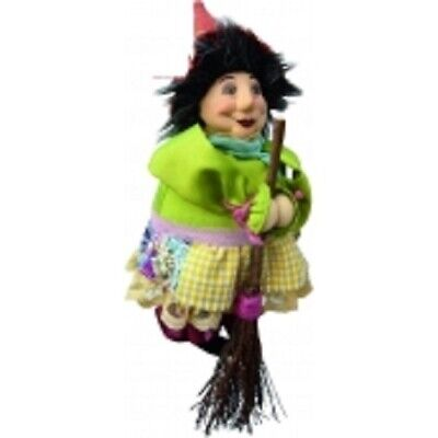 £18.95 • Buy Witches Of Pendle *lavender  Floral Flying Witch 20 Cms  Info Book Pagan