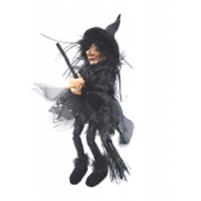 £23.95 • Buy Witches Of Pendle *sabrina  Black Flying Witch 30 Cms  Info Book Pagan/ Occult