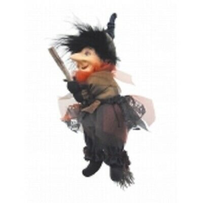 £19.95 • Buy Witches Of Pendle *emily  Blue Flying Witch 20 Cms  Info Book Pagan/ Occult