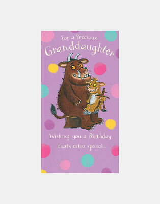 £3.20 • Buy The Gruffalo For A Precious Granddaughter Birthday Greeting Card With Envelope