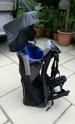 £65 • Buy Bush Baby Lite, Baby Carrier From Approx 5/6 Months - 3/4 Years. Blue/grey/black